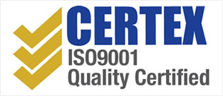 Certex ISO9001 Quality Certified