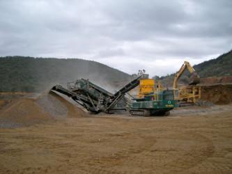 BQC Quarries -  Busy again